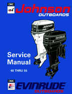1994 johnson evinrude outboards 40 thru 55 service manual for 55 johnson outboard motor